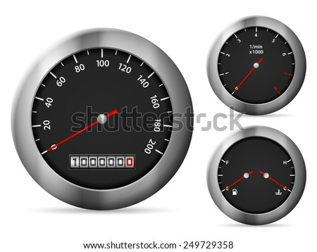 speedometer illustration.