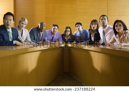 Spellbound Business Meeting - stock photo