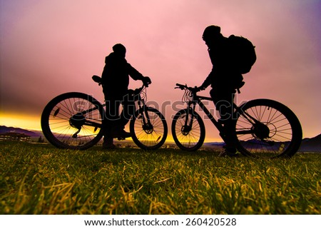 spend time in nature with bike