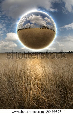 Sphere and Field
