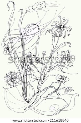 Spica, illustration, graphic arts - stock photo