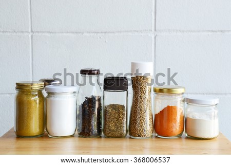spice and herbal for cooking