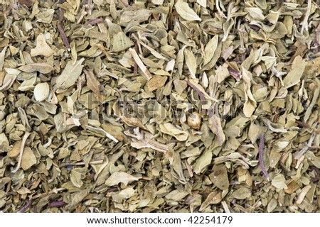 Spice - dry Oregano Abstract Background .