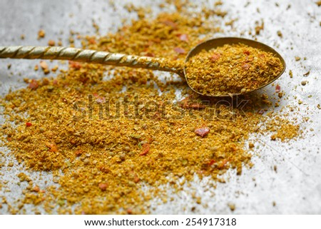 Spice mix for Daal - stock photo