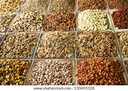 spices and nuts