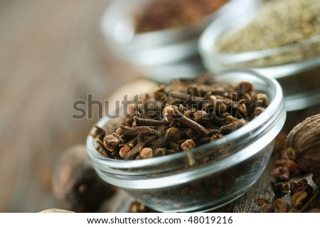 Spices.Cloves - stock photo