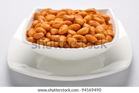 Spicy Peanuts im-1 - stock photo