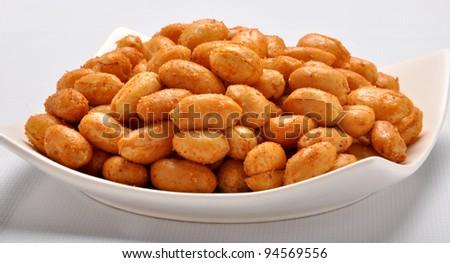 Spicy Peanuts im-7 - stock photo
