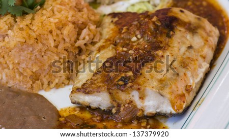 Spicy sauce fish