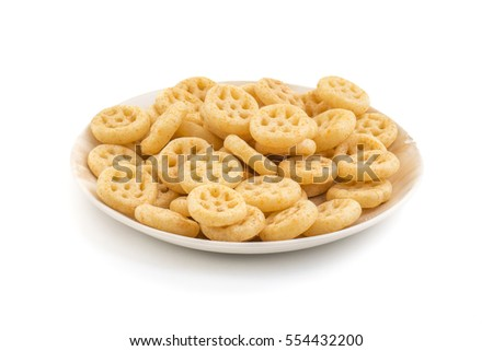 Spicy wheels snack