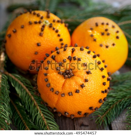 Spiked oranges