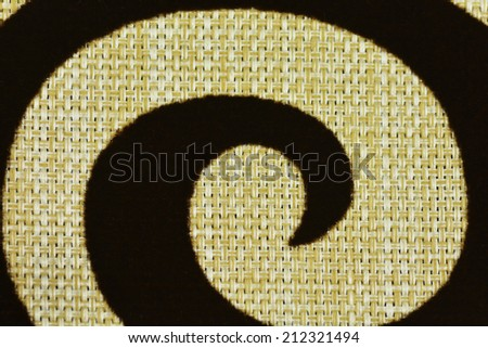 Spiral - Fabric texture background