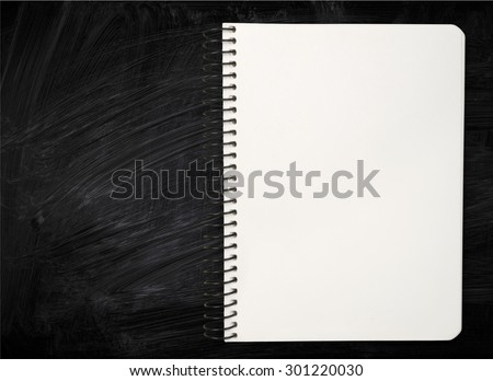 Spiral Notebook, Note Pad, Ring Binder.