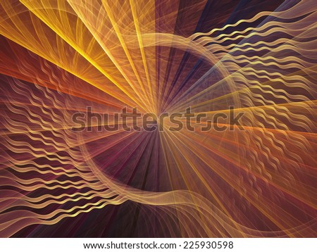 Spiral series. Spiral backdrop for use in projects on math, science and computer art. - stock photo