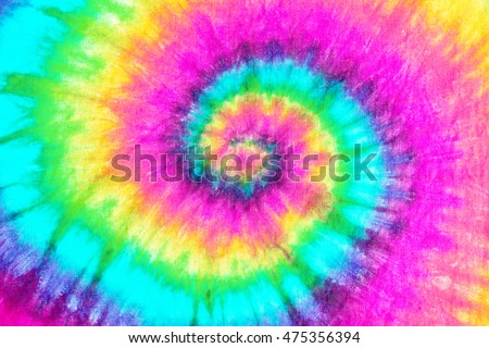 spiral tie dye pattern background.