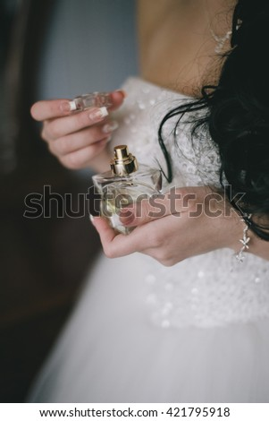 spirits in the hands of the bride