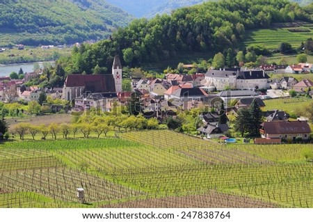 Spitz in Wachau  - stock photo
