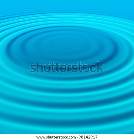 splash effect on water surface