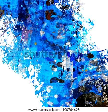 splash paint - stock photo