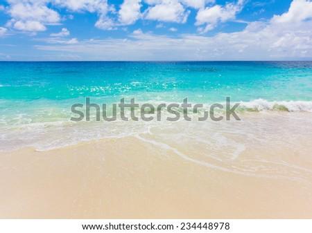 Splashing Sea Waves  - stock photo