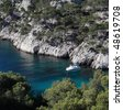Splendid southern France coast (Calanques de Cassis), southern France - stock photo