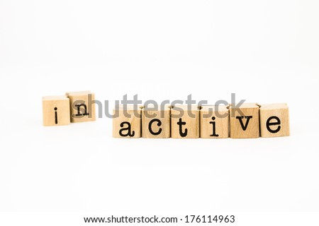 split inactive  wording, reform to active wording, motivation concept and idea