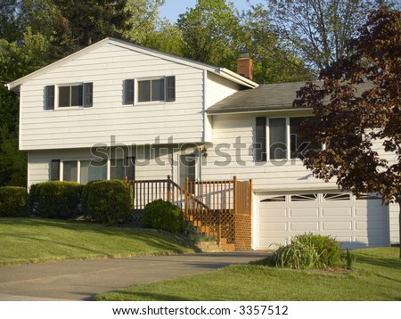 Split Level House | Split Level Home Stock Images Royalty Free Images Vectors