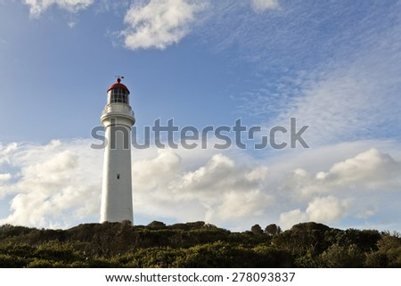 Split Point Lighthouse, Aireys Inlet, Great Ocean Road, Victoria, Australia