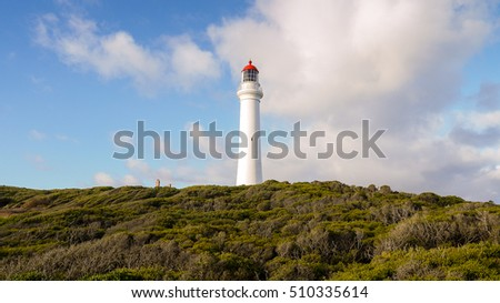 Split Point Lighthouse at the Great Ocean Road in Victoria, Australia