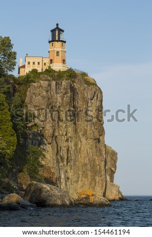 Split Rock Lighthouse - stock photo