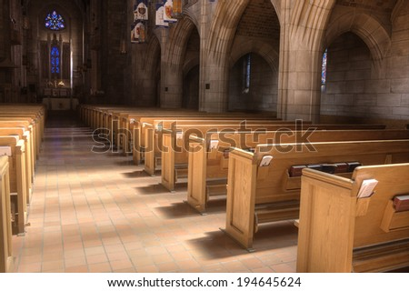 Church Pew Stock Images Royalty Free Images Amp Vectors