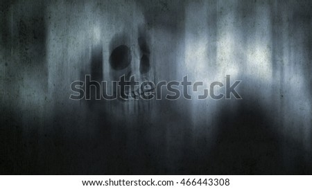 Spooky grunge abstract halloween background