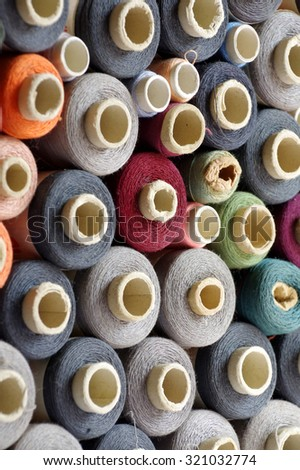 spools of thread group objects