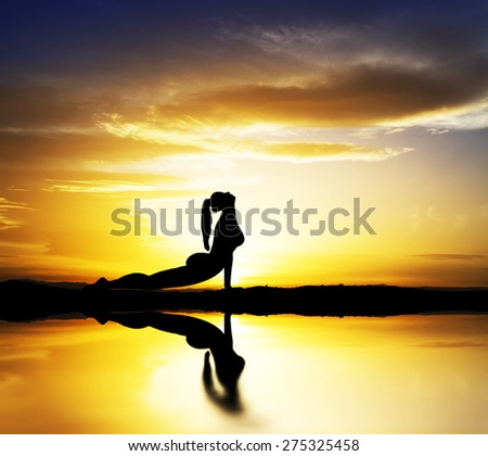 sport and leisure in nature - stock photo