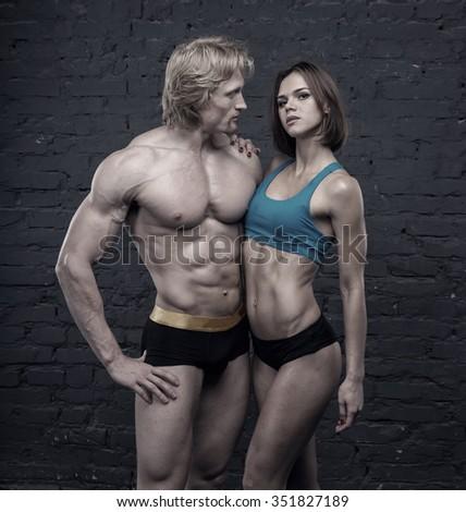 Male bodybuilder sexy female sex