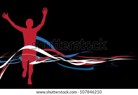 Sport illustration - stock photo