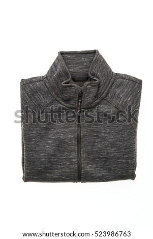 Sport jacket for clothing isolated on white background