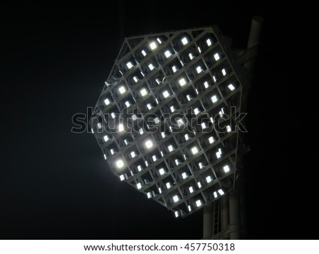 Sport light at night