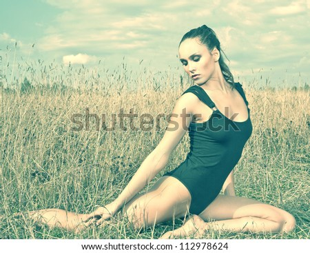 Sport on the groud - stock photo