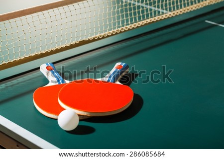 Sport, pong, ping. - stock photo