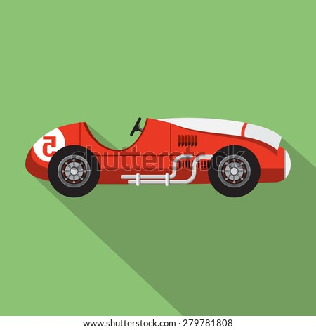 Sport Racing Car Icon