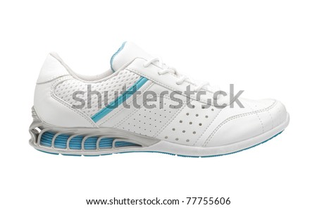 Sport shoe for exercise or outdoor activity - stock photo