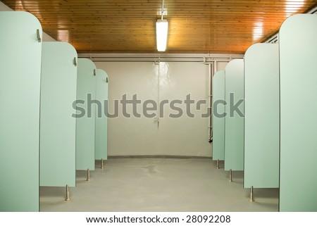 Sport showers - stock photo