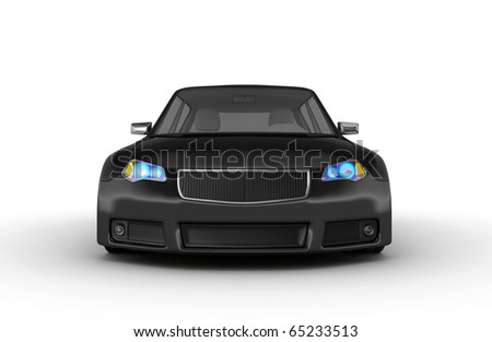 Sports car - 3d render. No trademark issues as the car is my own design.
