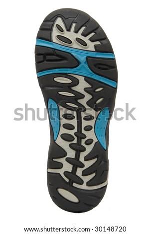 sports shoe sole - stock photo