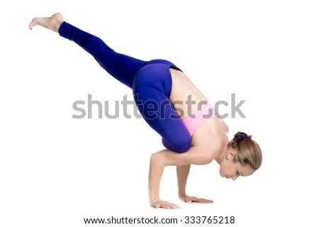 Crow Pose Stock Photos, Royalty-Free Images & Vectors ...