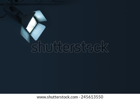 Spotlight - stock photo