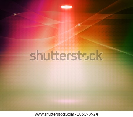 Spotlight Abstract Background - stock photo