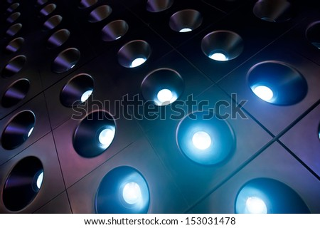 spotlights 02 - stock photo