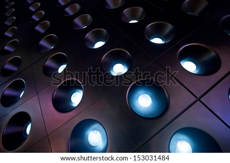 spotlights 01 - stock photo